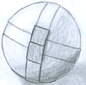 A puzzle ball.